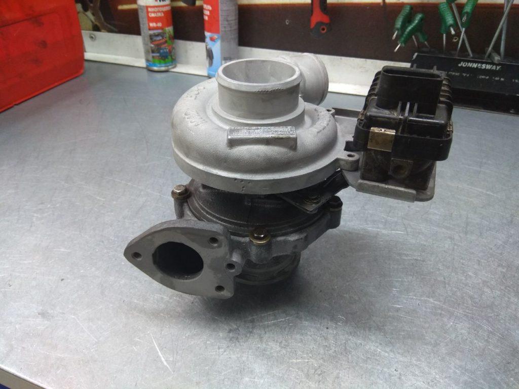 Land Rover Freelander, ленд ровер, фрилендер, 753546-0014, ремонт турбины, ремонт турбокомпрессора