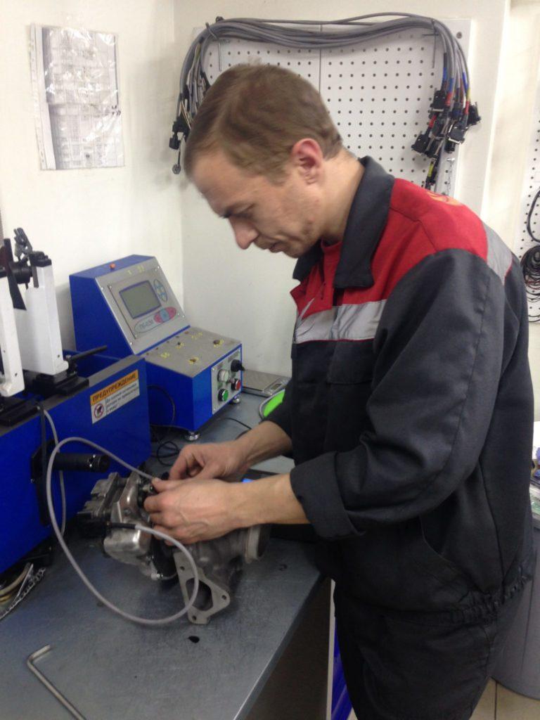 Mercedes Viano, мерседес виано, ремонт турбокомпрессора, ремонт турбины, VV19 AL0044