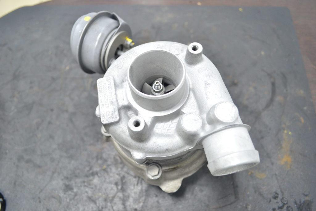 Audi A6, ауди а6, 454231-0002, ремонт турбины, ремонт турбокомпрессора, Курск